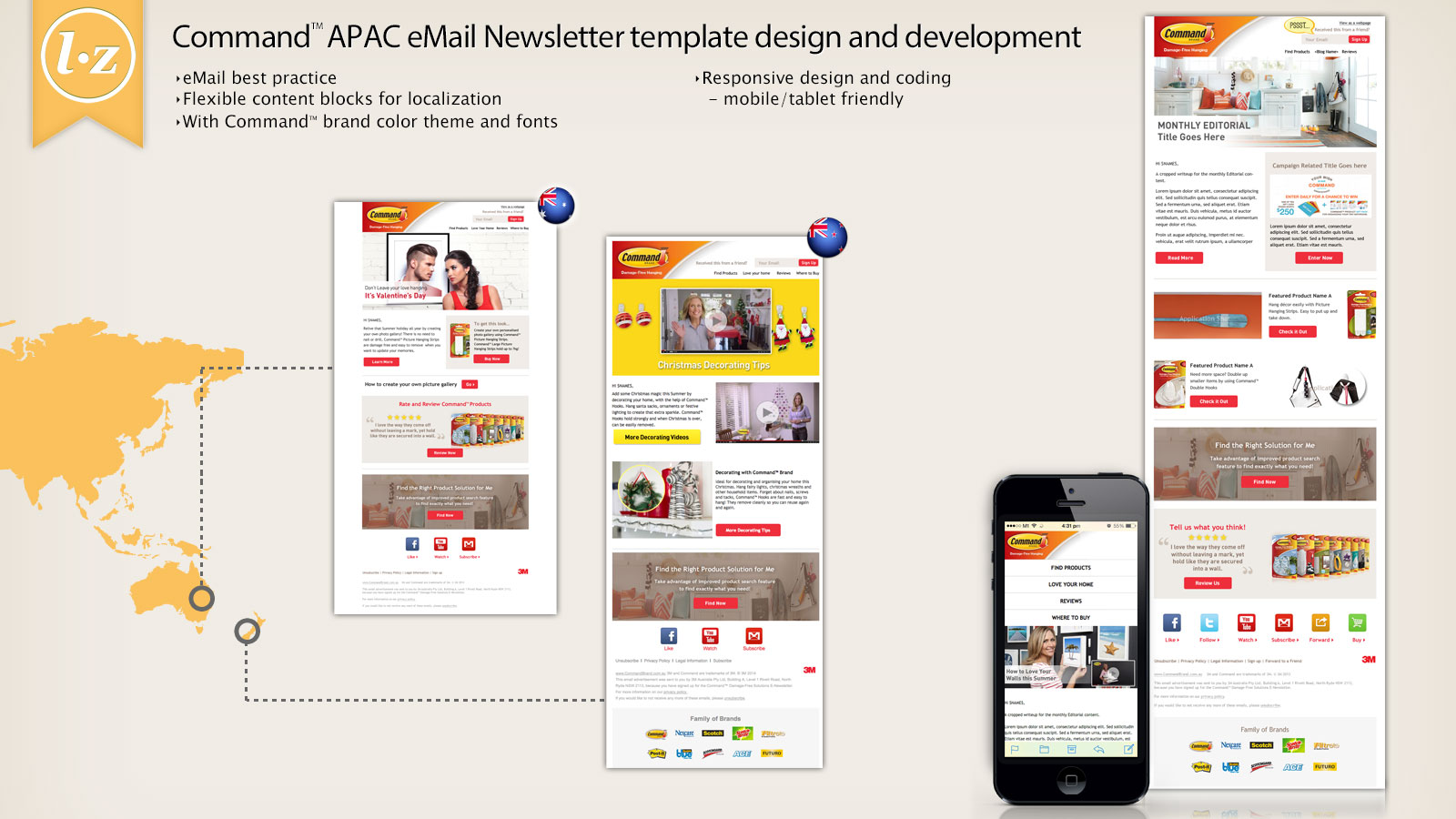 Responsive eNewsletter design and development