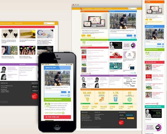 eHub blog Responsive Design