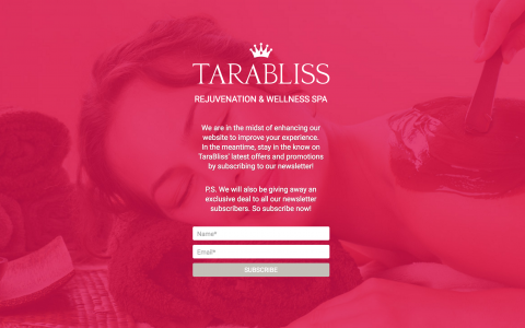 Case Study: Digital Marketing and eCommerce Acceleration for TaraBliss Spa